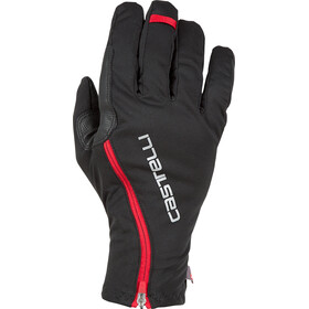 Castelli Spettacolo Ros Cykelhandsker, black/red